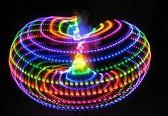 MoodHoops Neon LED Hoop