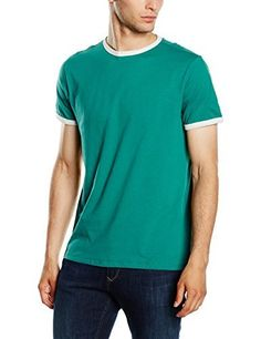 New Look Men's Basic Ringer T-Shirt  buy now from Amazon