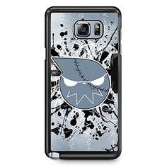 GEBLEG- Soul Eater Samsung Galaxy Note 5 Case Hard Plastic Material with Black Frame Gebleg http://www.amazon.com/dp/B01CWJOS7W/ref=cm_sw_r_pi_dp_bbn5wb18DA345