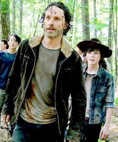 """The Walking Dead 5x01 """"No Sanctuary"""""""