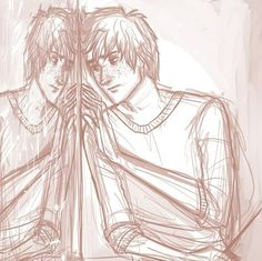 (Fred and) George Weasley A great illustration of what one twin might do after the loss of the other.