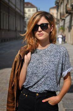 Black Shades With Shirt And Stylish Jacket