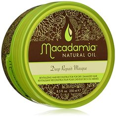 cool Macadamia Oil Deep Repair Mask, 8.5 ounces Jar