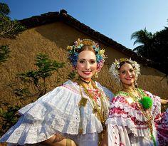 Traditional Pollera Dress - Panama City, Panama