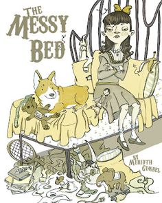 The Messy Bed by Meridth Gimbel