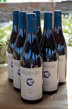 Guests will love a hand-selected wine, such as this Pinot Noir from Pegasus Bay in New Zealand.