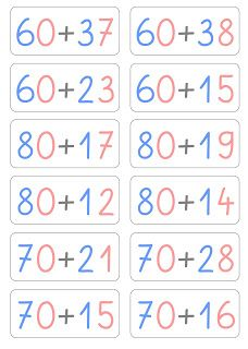Task cards for calculating with tens – All For Garden 1st Grade Math Worksheets, First Grade Math, Second Grade, Math Exercises, Math Subtraction, Math Division, Teacher Notebook, Learn German, Common Core Math