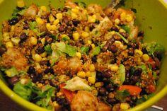 Quinoa Southwest Style  #vegetarian