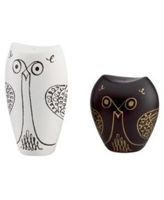 {owl salt + pepper shakers} by Kate Spade