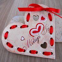 Por amor / mercancías minorista popellka | Fler.cz Christmas Crafts, Hearts, Clay, Ceramics, Manualidades, Pottery, Fimo, Clays, Ceramica