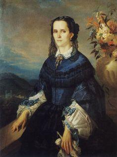 Auguste Muller, Baronesa de Vassouras, ost, 1,50x0,94, Museu Imperial, Petrópolis