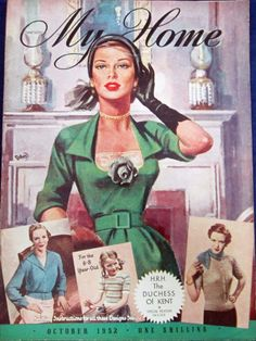 Vintage & Today: ,,My Home'' magazine from 1947 to 1960 -> ,,My Home'' magazyn od 1947 do 1960 roku.