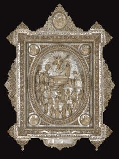 Mother of Pearl Icon of the Resurrection, circa 1900