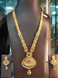 Long Necklaces, Antique Gold, Gold Jewelry, Chain, Fashion, Moda, Collares Largos, Fashion Styles, Gold Jewellery