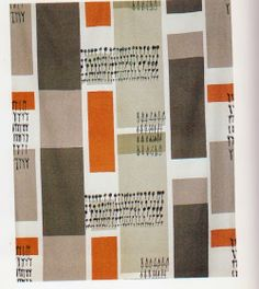 Susy Pilgrim Waters another amazingly talented UK artist.  Lucienne Day  b.Surrey, England 1917-2010