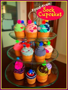 How to Make Sock Cupcakes
