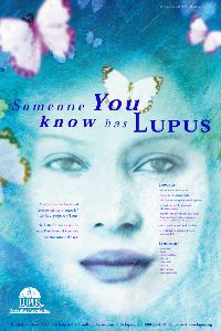 Lupus Awareness Butterfly poster