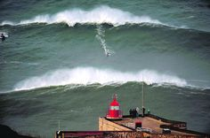 mcnamara nazare - lighthouse