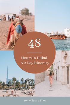 A guide to spending 48 hours in Dubai / Someplace Wilder by Whitney Gabriel Dubai Travel Guide, Our Last Night, D Book, Heritage Hotel, Cultural Experience, Hotel S, Burj Khalifa, Stunning View, One In A Million