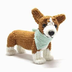 New #corgi now on #etsy! Link to shop in profile. #dog #puppy #crochet #amigurumi by julierenton