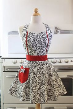 Apron i love it!!!  i would cook all the time if i had one of these to wear!!