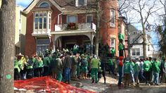 U of M St Patrick's weekend. Public Intoxication, Urination and Vomiting. The pride of Ann Arbor