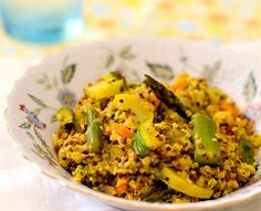 Curried Quinoa Risotto (Gluten-Free, Vegan). Photo by InnerHarmonyNutrition