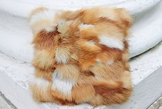 Two red fox fur pillow cover Fur pillows Fur accent pillow Fur cushion Fur cushion cover Plush fur p Toss Pillows, Accent Pillows, Window Seat Cushions, Red Fur, Living Room Pillows, Fur Pillow, Fur Clothing, Pembroke Welsh Corgi, Luxury Decor