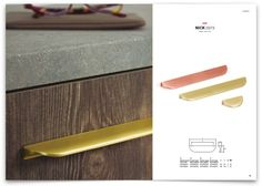 Tiradores y asas de mueble. Detalles que marcan la diferencia. Handle, Kitchen, Copper, Wings, Drawer Pulls, Bronze, Cooking, Kitchens, Cuisine