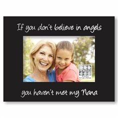 Angel Nana Picture Frame -