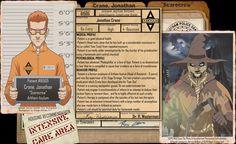 Arkham Files - Scarecrow by Roysovitch on DeviantArt
