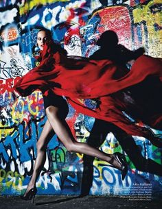"The Streets of Paris Transform into a Fashion Art in ""Mon Amour Paris"" by Mario Sorrenti"