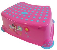 Was £8.99 > Now £6.99.  Save 22% off Disney Minnie Step Stool for 1 Year and Above (Pink) #1StarDeal, #Baby, #BabyProduct, #PottyTrainingStepStools, #SolutionEULtd, #Under10