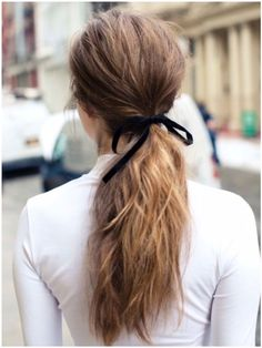 Laço no cabelo / hairstyle / hair / inspiration