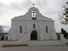San Elizario Mission part of the el paso mission trail