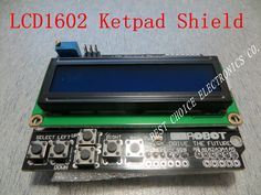 Free shipping LCD Keypad Shield of the LCD1602 character LCD input and output expansion board For ARDUINO