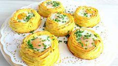 Potato nest recipe / Cestini di patate