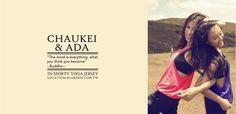 Yoga apparel for fashionistas