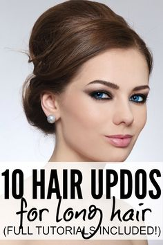 10 Simple & Sexy Fall Hair Updos For Long Hair