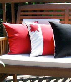 Parade your Canadian pride around for all to see with these Canada Day outdoor throw pillows. The durable fabric and excellent craftsmanship means that you can use these cushions to decorate any area of your home. White Pillow Covers, Outdoor Pillow Covers, White Pillows, Sunbrella Pillows, Cushions, Throw Pillows, Accent Pillows, Canada Day Party, Canada Holiday