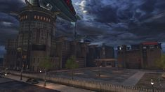 The GCPD Headquarters is a complex located in Gotham City's Old Gotham district. Serving as the primary headquarters for the Gotham City Police Department the building itself had been a target for attacks from vandals, delinquents and supervillains alike, however, the building is always restored, rebuilt and refurnished to continue upholding the law and maintaining justice in a city filled with corruption.