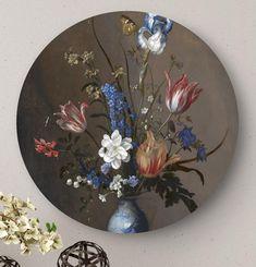 Ronde oude meesters: wandcirkels en muurcirkels HIP ORGNL Masters Decorative Plates, Projects, Painting, Spongebob, Home Decor, Wallpapers, Frames, Log Projects, Blue Prints