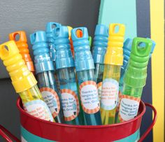 SURF'S UP Birthday or Baby Shower Party Favor by LolosBoutique, $7.95