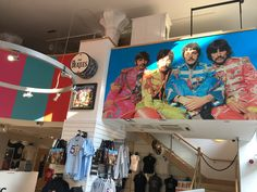 """Official THE BEATLES POP UP SHOP OPEN IN LIVERPOOL  2 weeks only ! SGT PEPPER Deluxe box set  Penny Lane Strawberry fields vinyl single  Limited edition alternative print  """" special event """" t shirt  Some of the highlights  but So much more ...... 1 Mathew Street   Liverpool"""