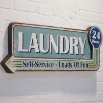 Old Laundry Signs Best Vintage Tin Metal Old Laundry Room Sign Country Primative Antique Design Decoration