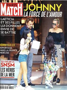PARIS MATCH N°3542 6 AVRIL 2017  HALLYDAY/ SNSM/ PRESIDENTIELLE/ OUTRE-MER/ SEYFRIED/ HASTINGS