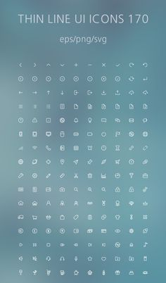 Fresh new free Outline icon sets for website mockups, mobile app user interface and graphic design projects. There are outline icons! All icons are Design Ios, Game Ui Design, Icon Design, Flat Design, Design Thinking, Website Menu, Mobile Icon, App Design Inspiration, Motion Design