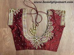 Zardosi Work Indian Blouse Designs