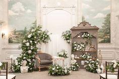Photo Credit: AGI Studio   Planner: Designed Dream Wedding   Florals: De Novo Florals   Decor: Glamourous Affairs