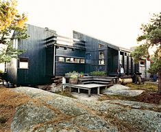 Holm-Kiehls Residence in Hanko, Norway. Photo by: Pia Ulin   Read more: http://www.dwell.com/articles/norwegian-wood.html